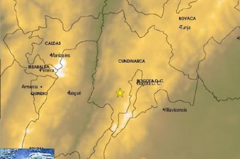 Sismo en Silvania, Cundinamarca