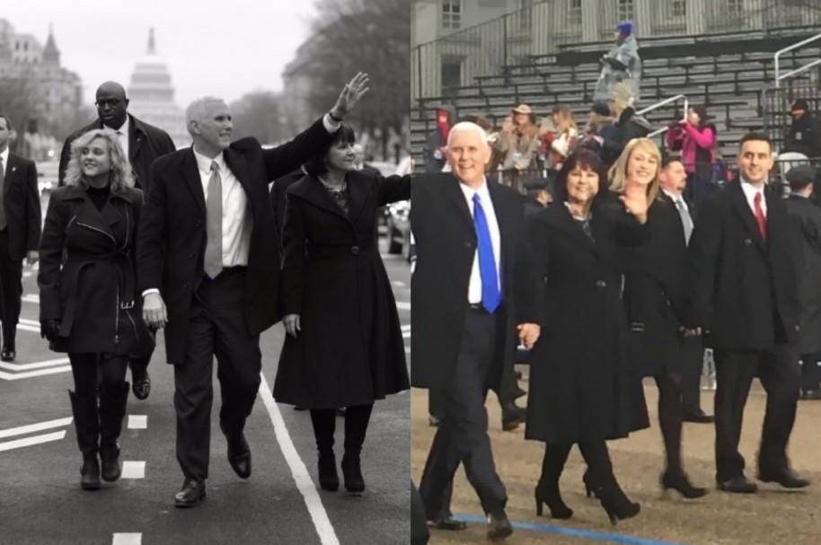 Desfile de posesión Mike Pence