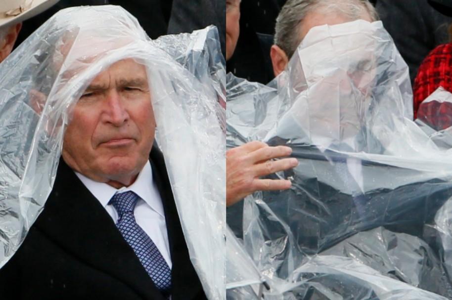 Impermeable de George Bush