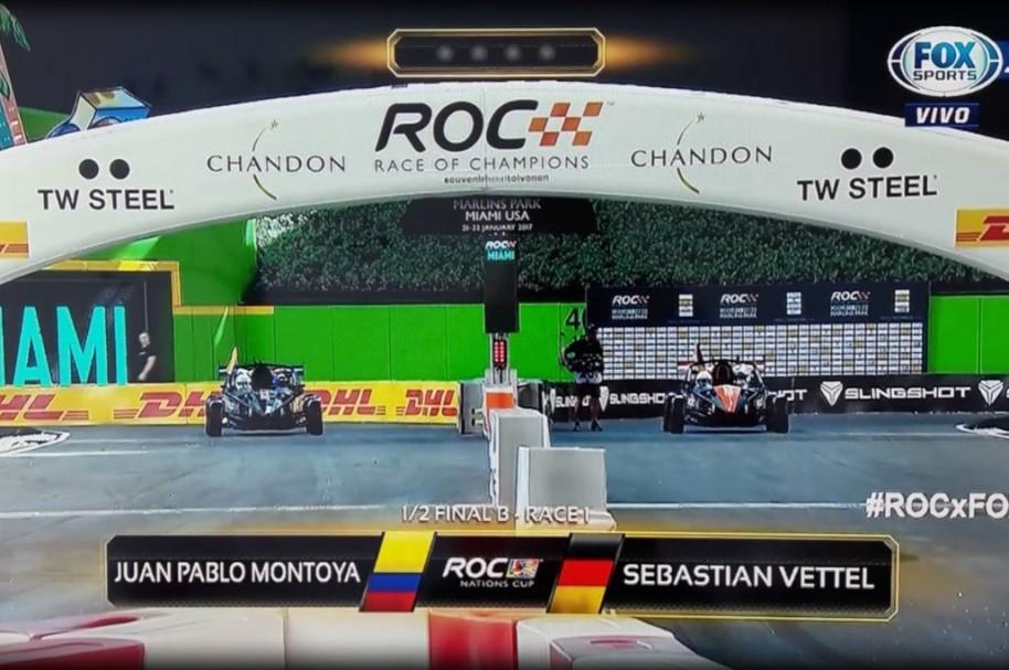 Montoya vs Vettel