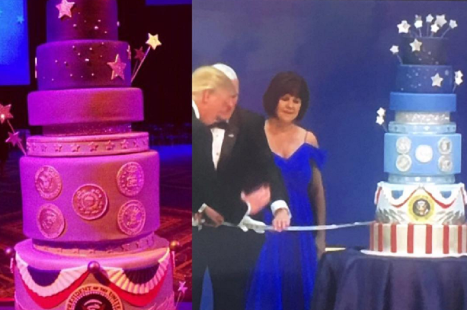 Pastel de Trump fue copia del de Obama