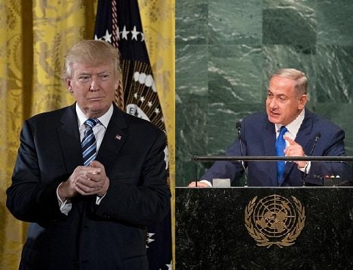 Donald Trump y Benjamin Netanyahu