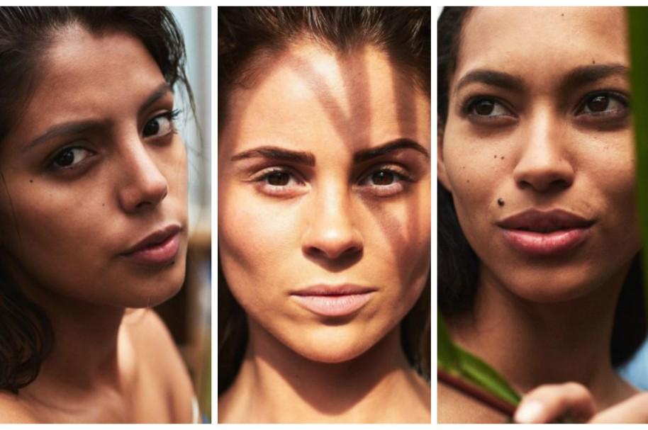 Connie Jiménez (Ecuador), Hildur Maria (Islandia) y Raquel Pelissier (Haití), candidatas a Miss Universo