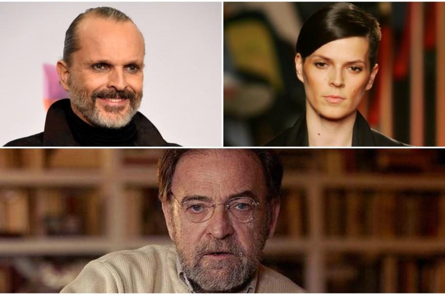 Miguel Bosé / Bimba Bosé / Anotnio Burgos
