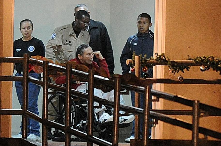 Manuel Antonio Noriega convaleciente