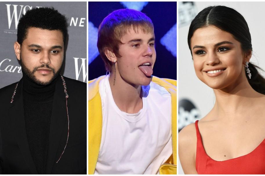 The Weeknd / Justin Bieber / Selena Gomez