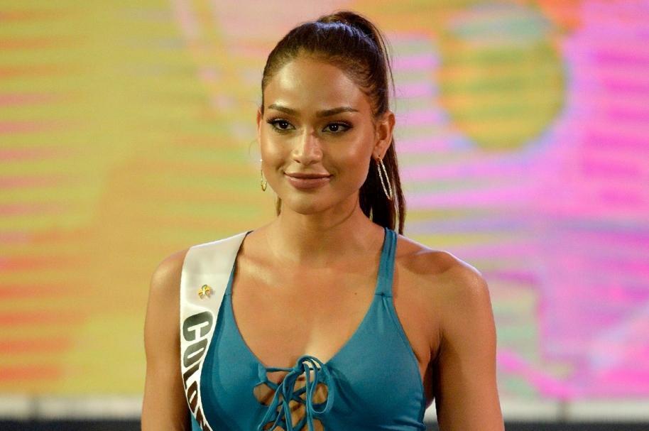 Andrea Tovar, representante de Colombia en Miss Universo.