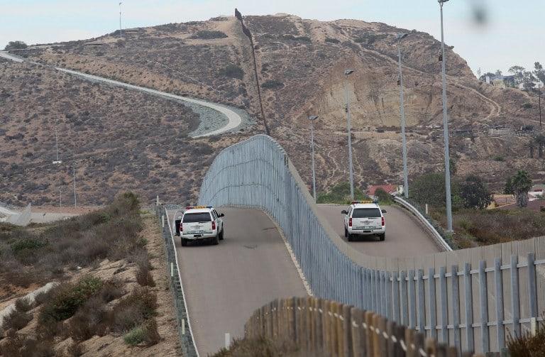 La frontera entre Estados Unidos y México ya tiene barreras