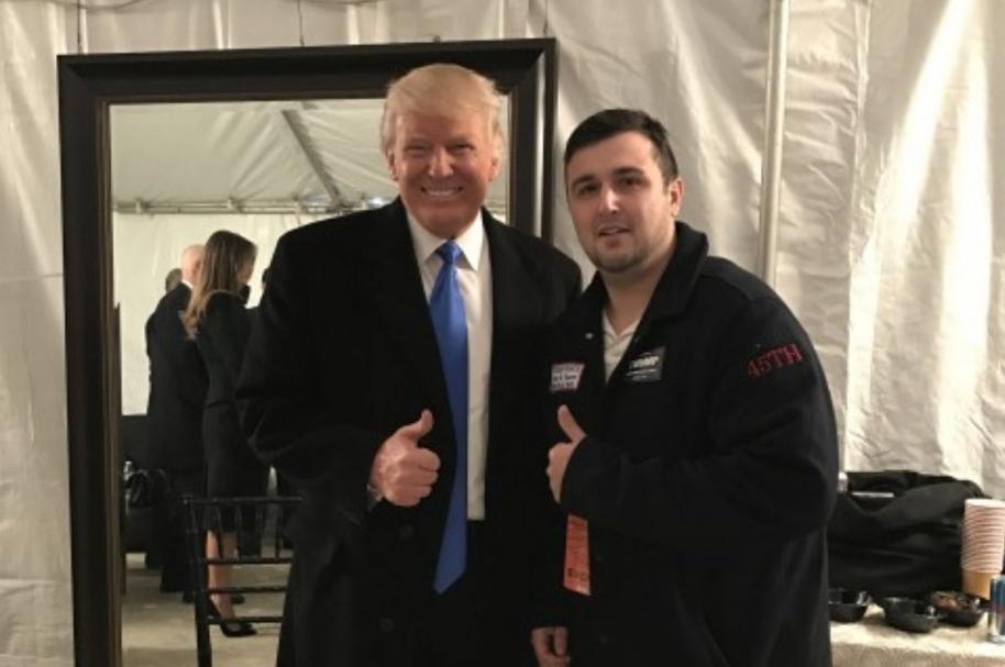 Donald Trump y Shane Bouvet