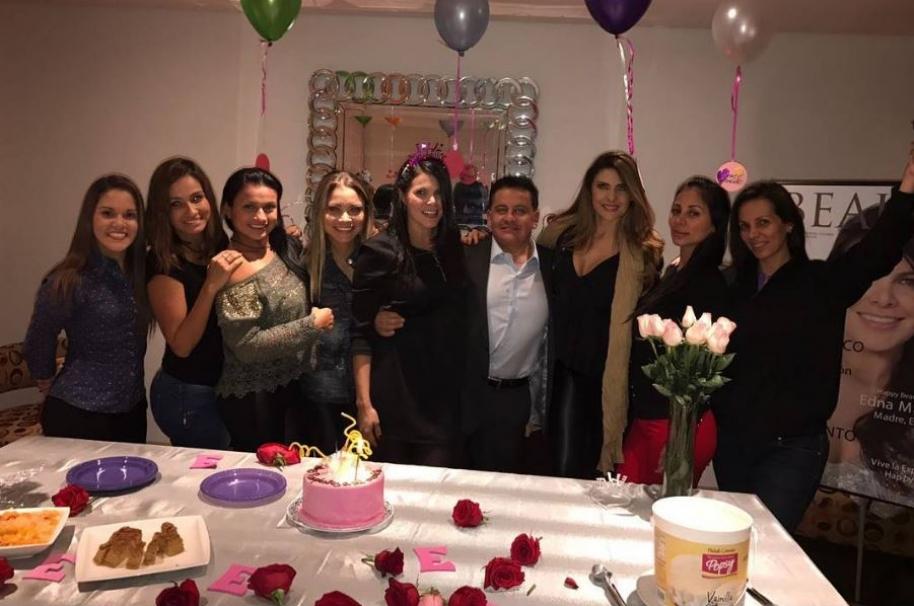 Celebración de cumpleaños de la exprotagonista de Novela Edna Márquez