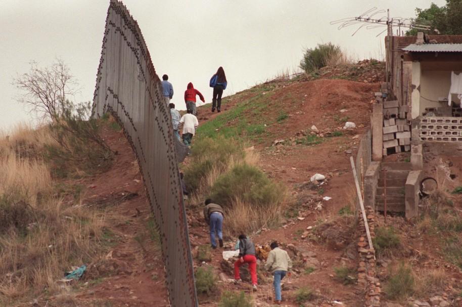 Muro entre México y Estados Unidos