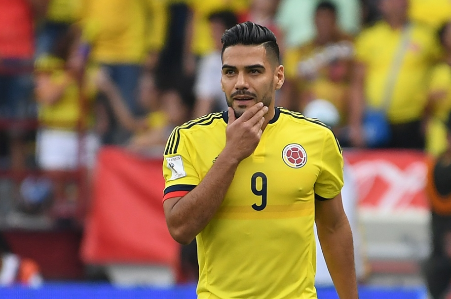 Falcao García, futbolista del Mónaco y la Selección Colombia.