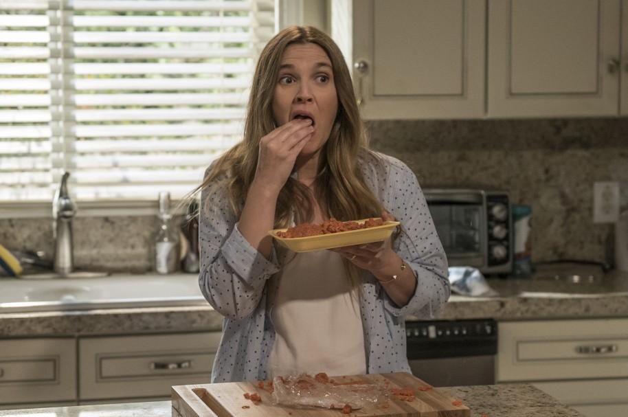 Drew Barrymore en la serie 'Santa Clarita Diet'
