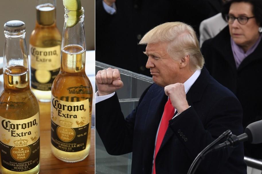 Trump y Corona