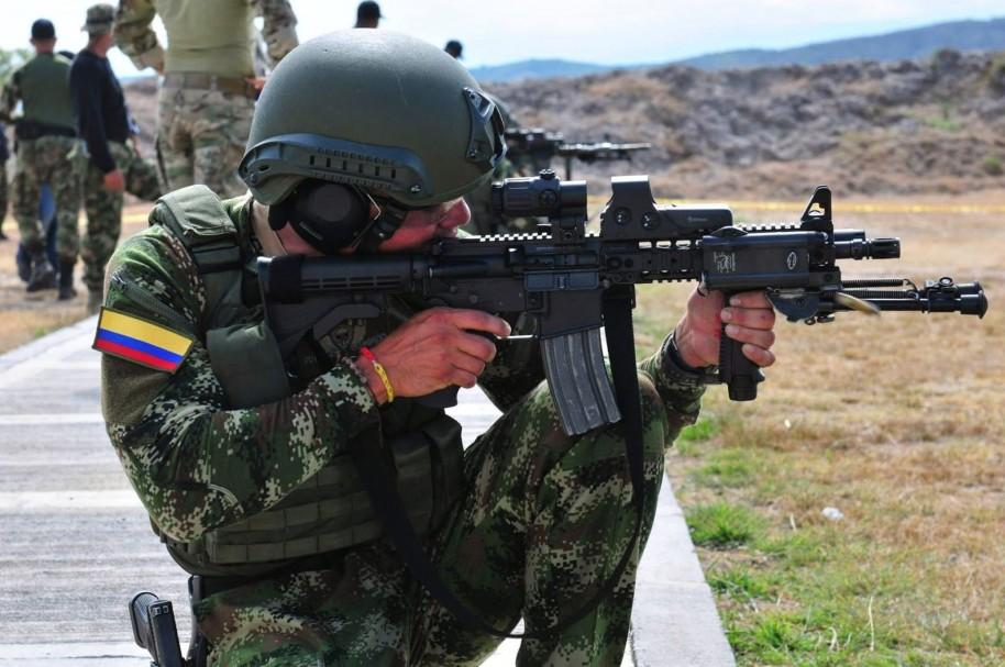 Soldado colombiano (imagen de referencia)