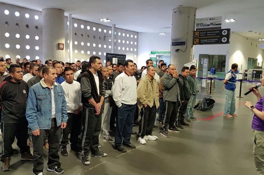Repatriación voluntaria de migrantes mexicanos desde EE.UU.