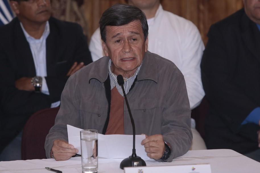 Alias Pablo Beltrán, negociador del Eln