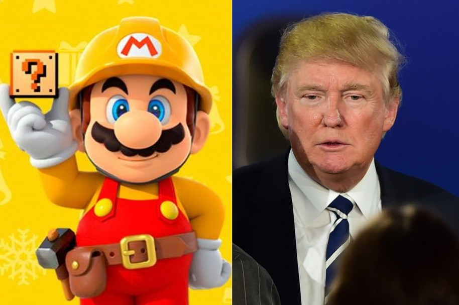 Trump y Mario Bros