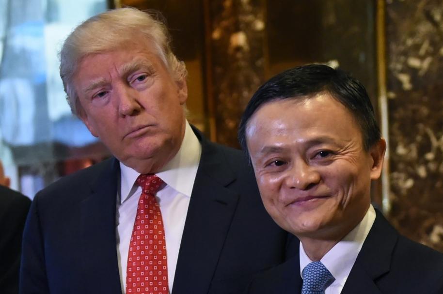 Trump y Jack Ma