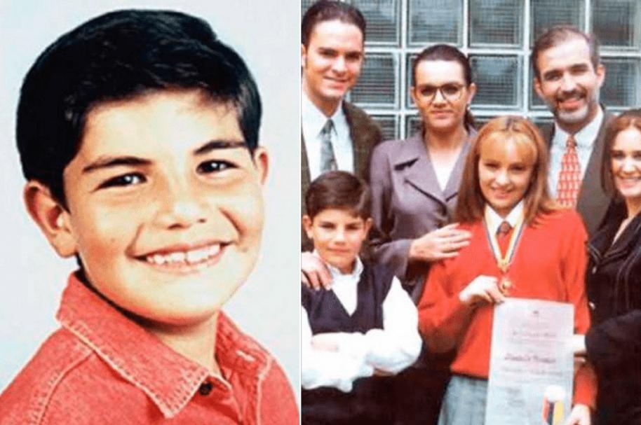Manolo Cardona, Daniel Abella, Luz Stella Luengas, Ana Victoria Beltrán, Luis Eduardo Motoa y Tania Robledo, cuando actuaban en 'Padres e hijos'.