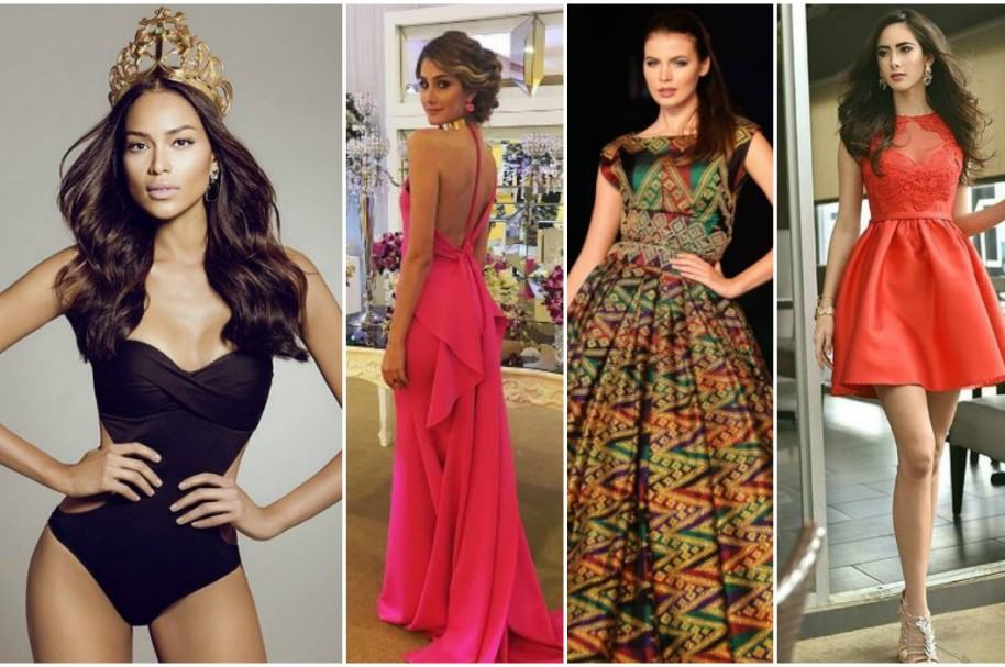 Andrea Tovar (Colombia), Mariam Habach (Venezuela), Alena Spodynyuk (Ucrania), Marina Jacoby (Nicaragua), candidatas a Miss Universo 2017