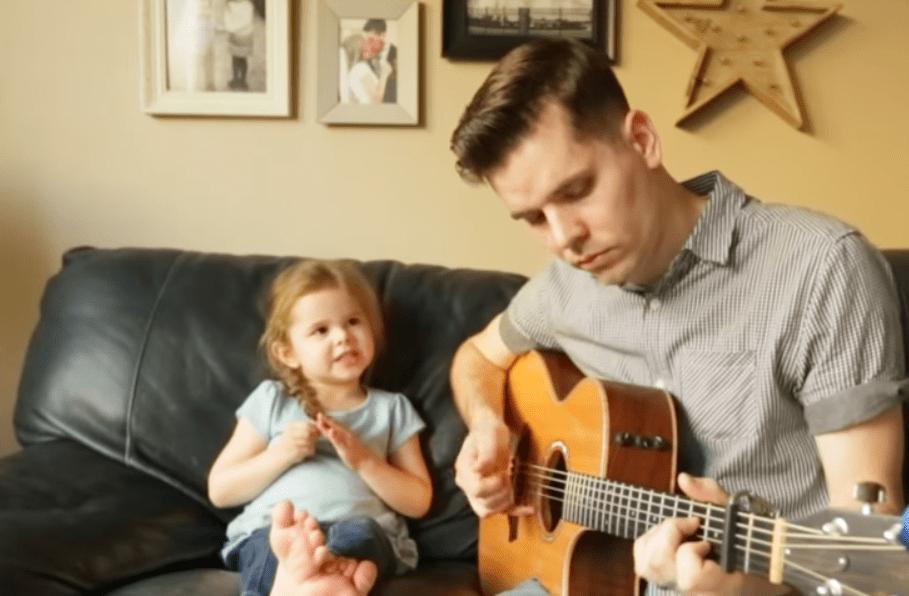 Claire y su papá