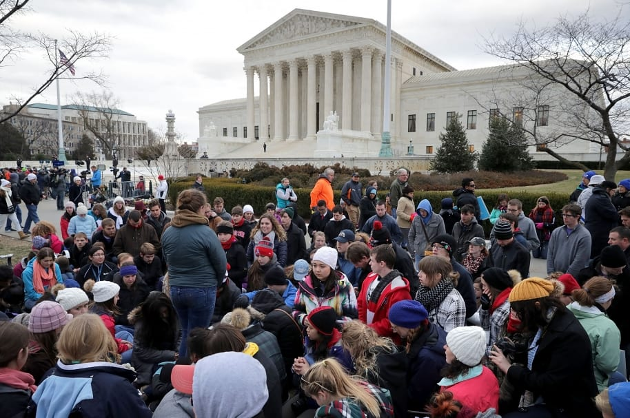 Marcha contra el aborto en Washington