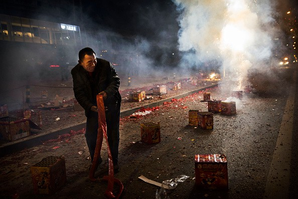 People Celebrate The Spring Festival In China