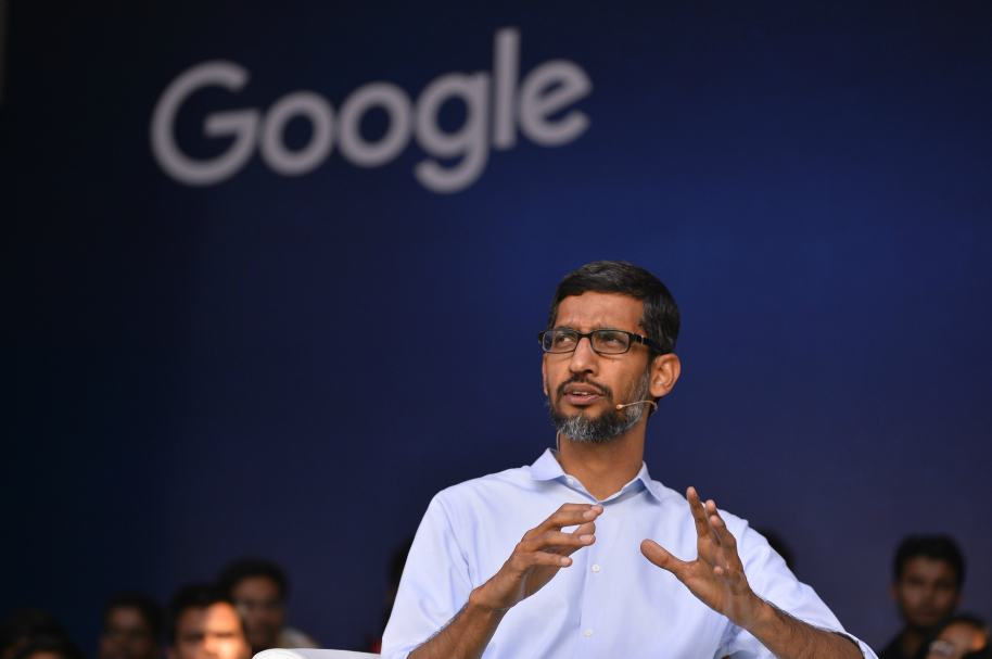 Presidente de Google Sundar Pichai