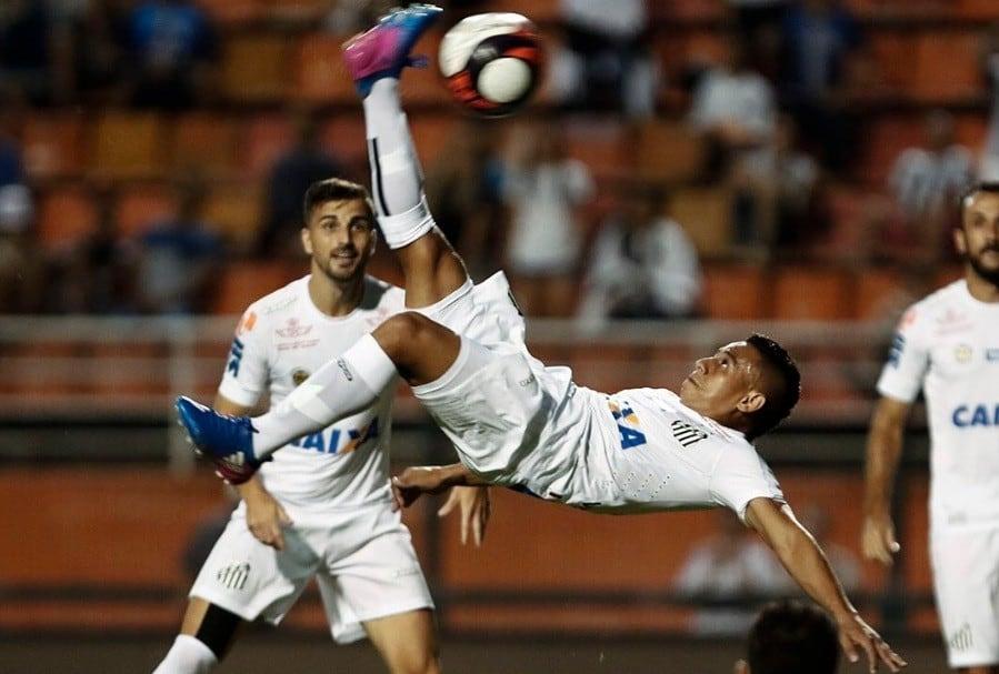 Gol chilena Vladimir Hernández