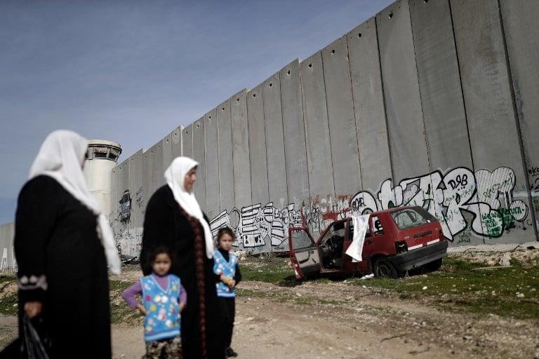 Muro en Israel