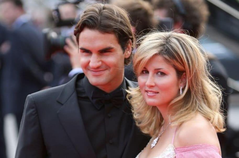 Roger y Mirka Federer