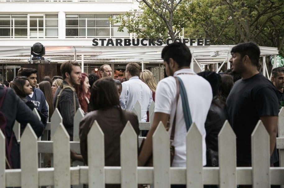 Solidaridad de Starbucks con inmgrantes