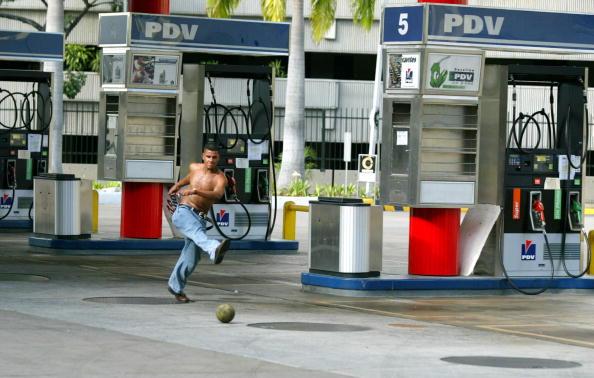 Estación de servicio venezolana