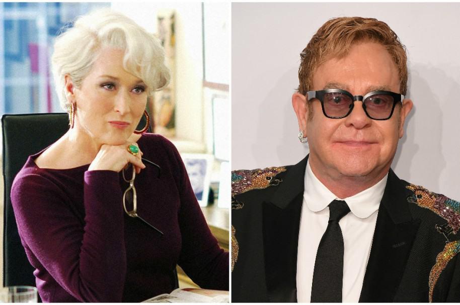 Meryl Strepp / Elton John