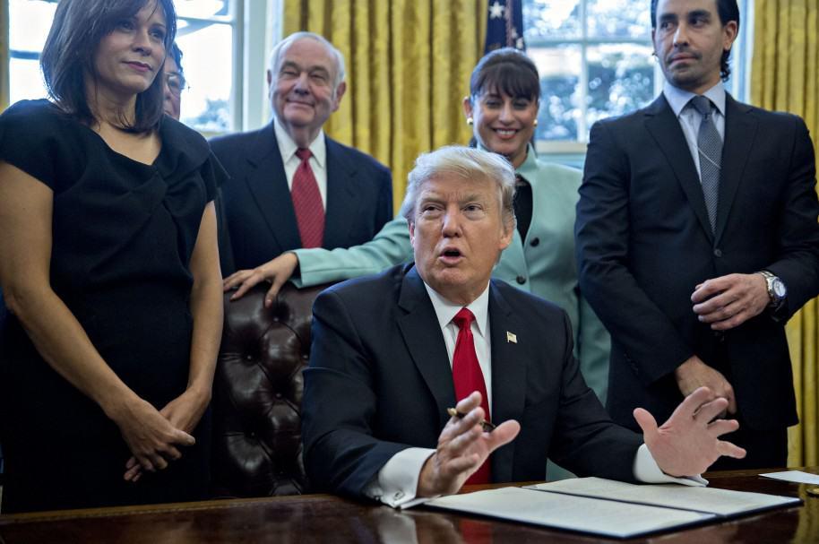 Las ordenes ejecutivas de Trump
