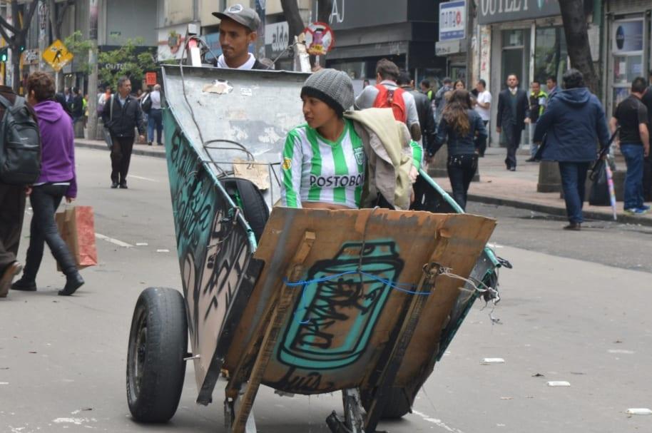 Pobreza carrera séptima Bogotá