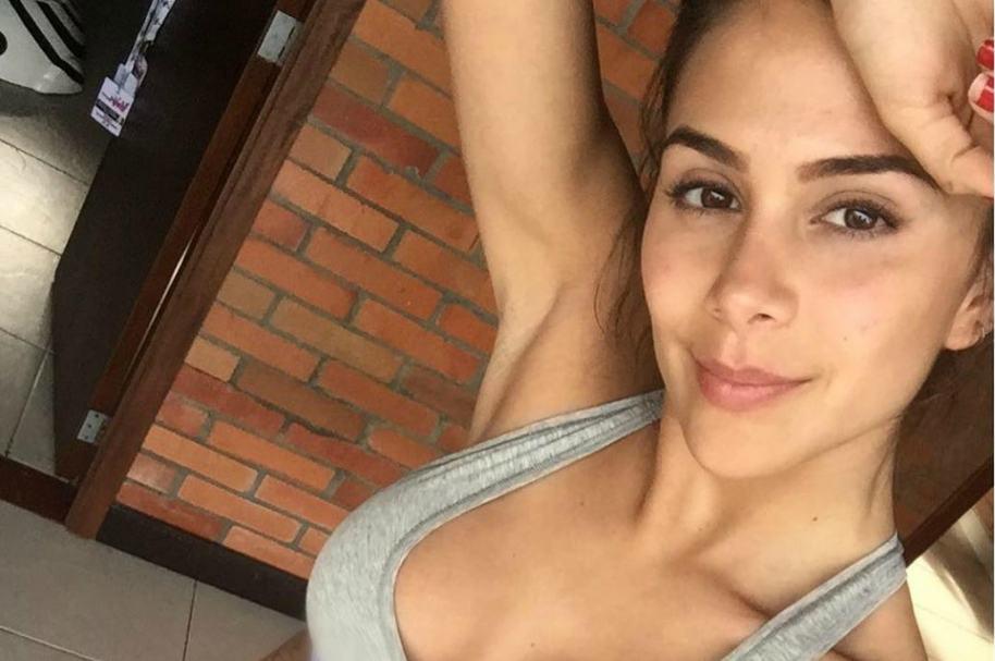 Greeicy Rendón, actriz colombiana.