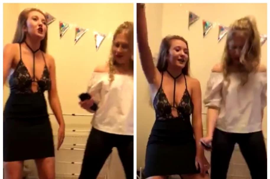 Joven haciendo baile de 'Geordie Shore'. Pulzo.com