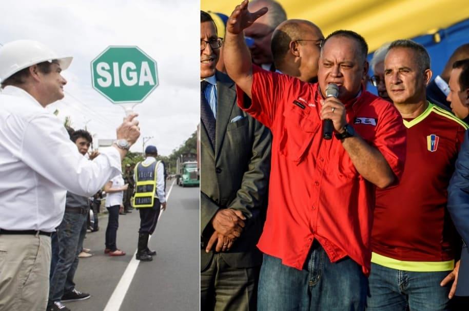 Vargas Lleras y Diosdado Cabello