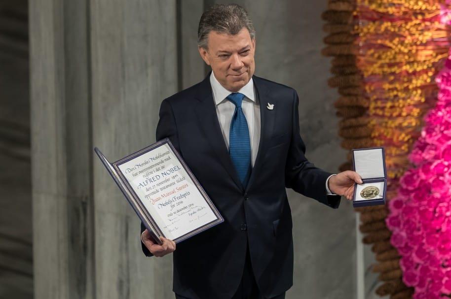 Nobel Peace Prize Award Ceremony 2016