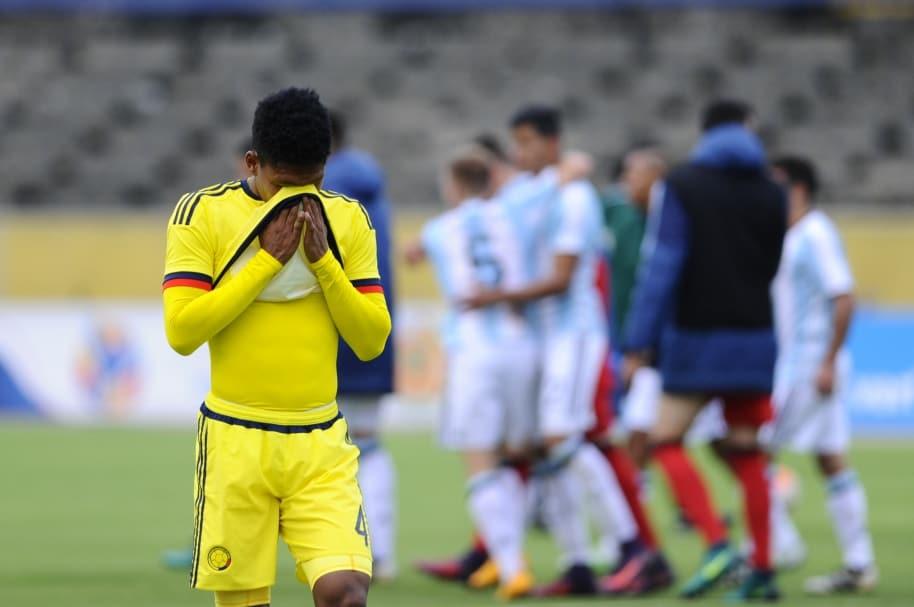 Joan Castro lamenta la derrota de la selección Colombia ante Argentina