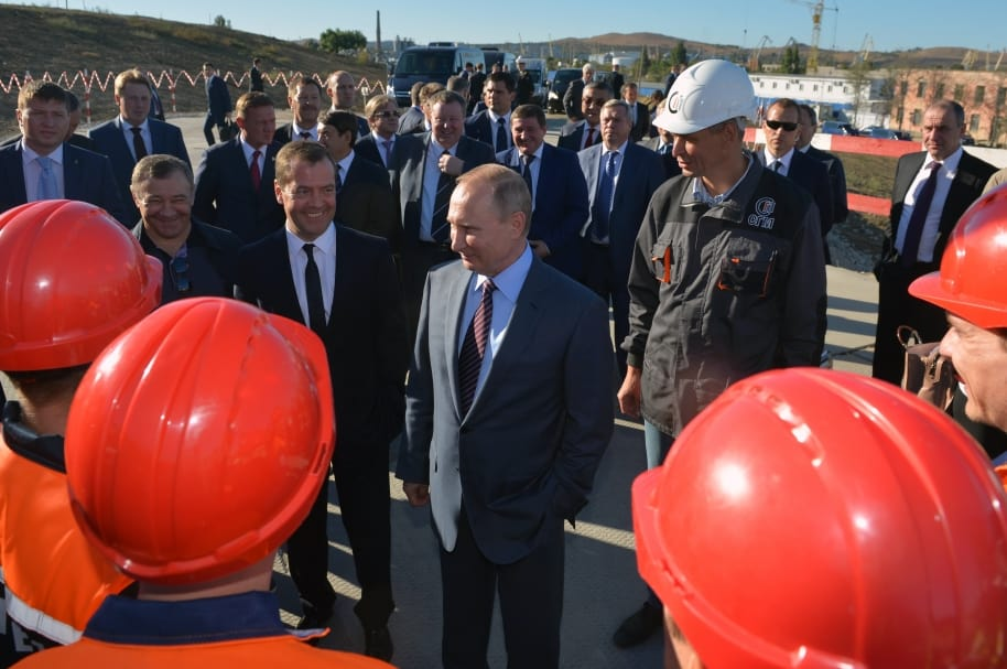 Putin quiere afianzarse en Crimea