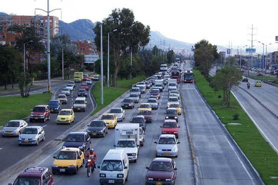 Movilidad Bogotá, archivo