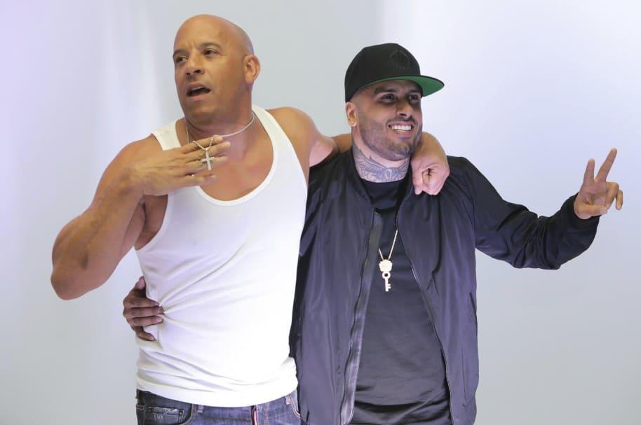 Vin Diesel y Nicky Jam.