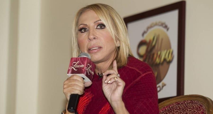 Laura Bozzo, presentadora de 'Laura en América'.