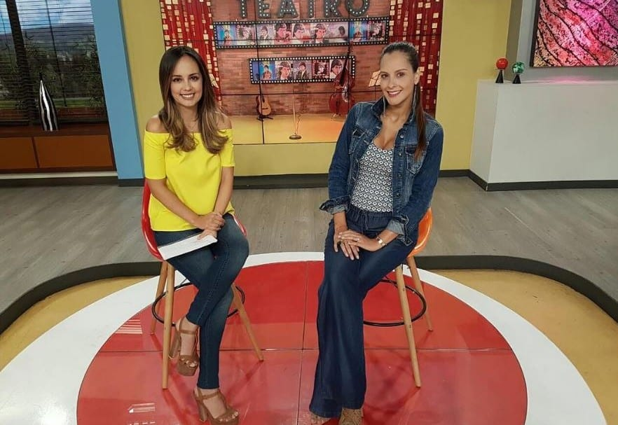 Milena López y Laura Acuña, presentadoras de 'Muy buenos días' de RCN.