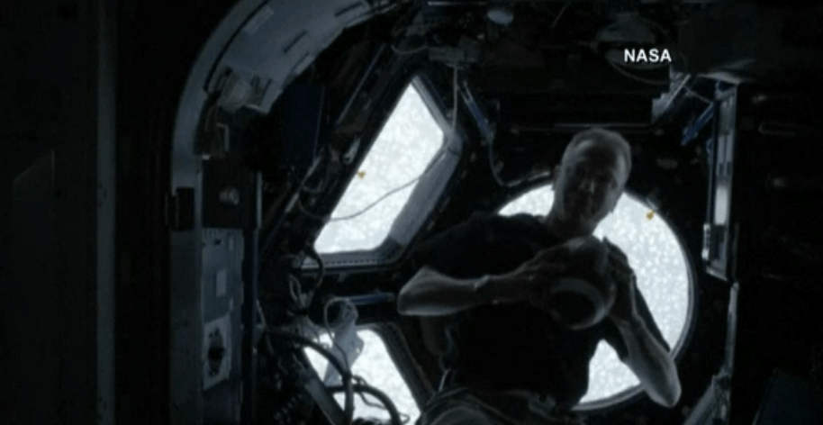 Astronauta de la Estación Espacial