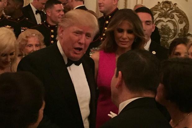Saludo cordial de Trump y embajador