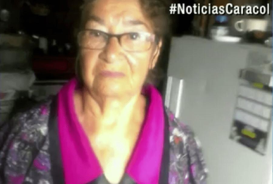 Ana Rosa Suárez, víctima